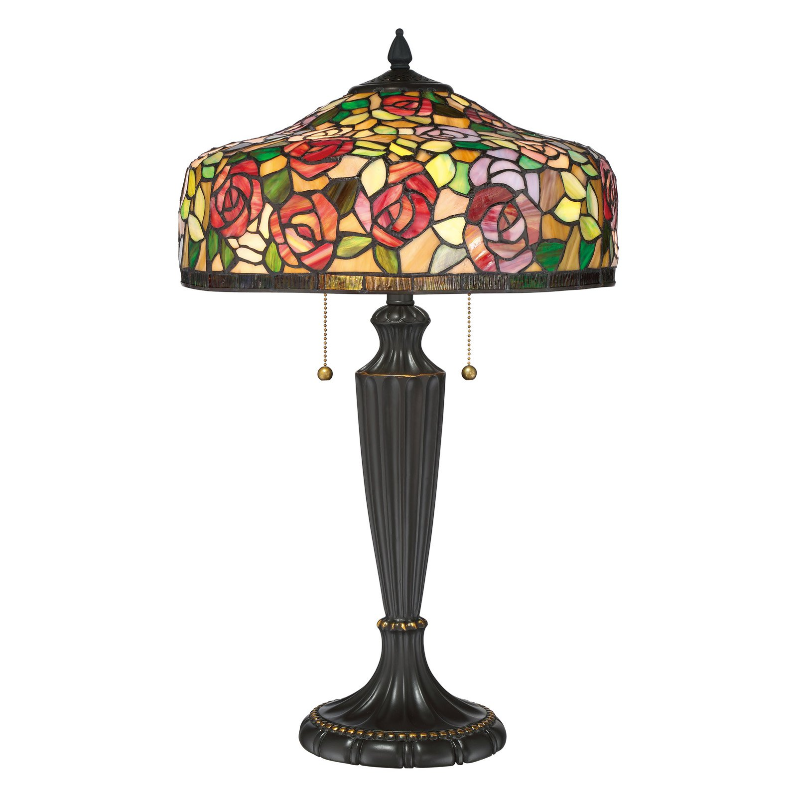 Quoizel 26.75 in. Tiffany Table Lamp by Quoizel