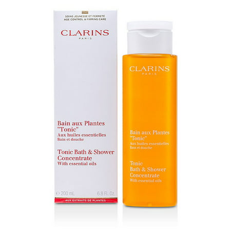 Clarins Tonic Bath & Shower Concentrate, 6.8 Oz