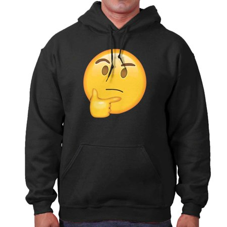 Brisco Brands - Wondering Emoji | Thinking Pondering Chin Stroke
