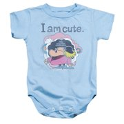 Electric Company I Am Cute Unisex Baby Snapsuit