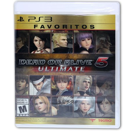 Dead or Alive 5 Ultimate  Tecmo for PS3 (Gold) - New (Dead Or Alive 5 Ultimate Halloween)