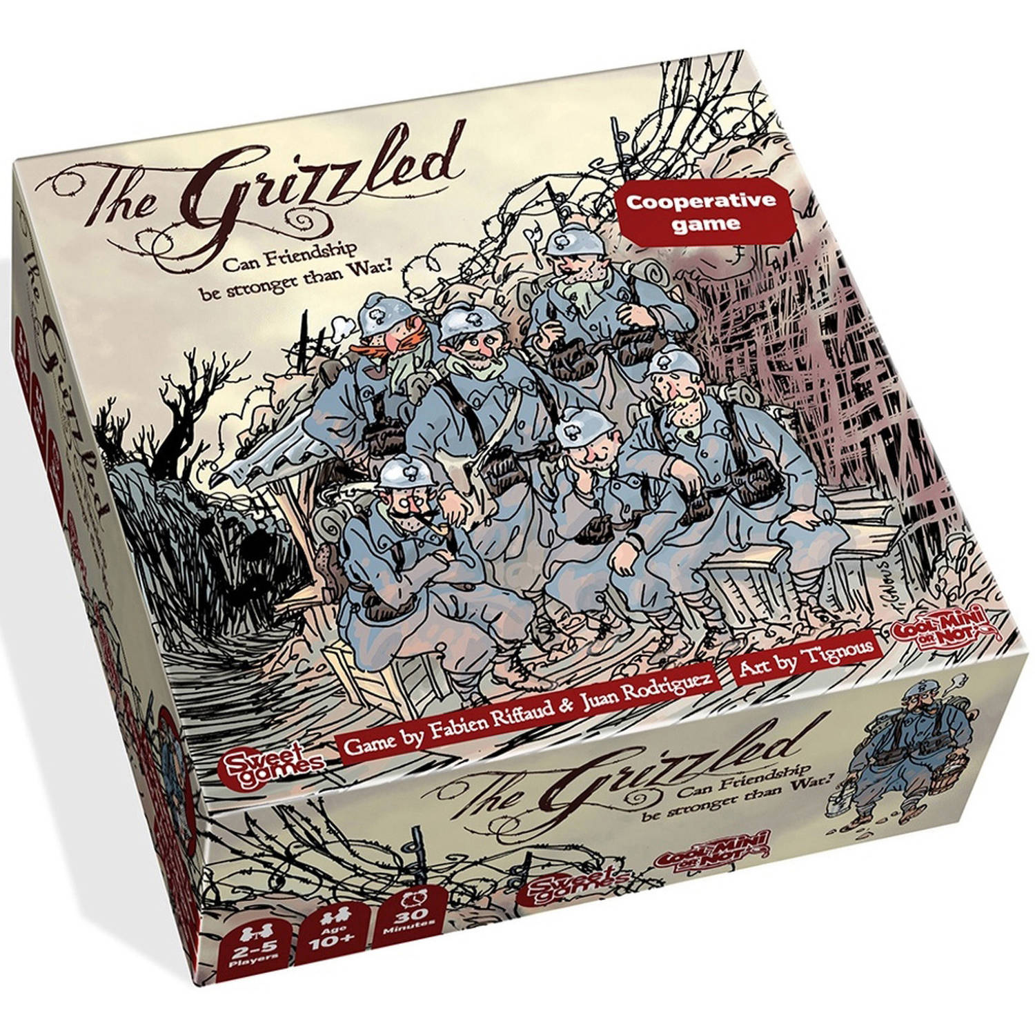 Cool Mini Or Not The Grizzled Board Game