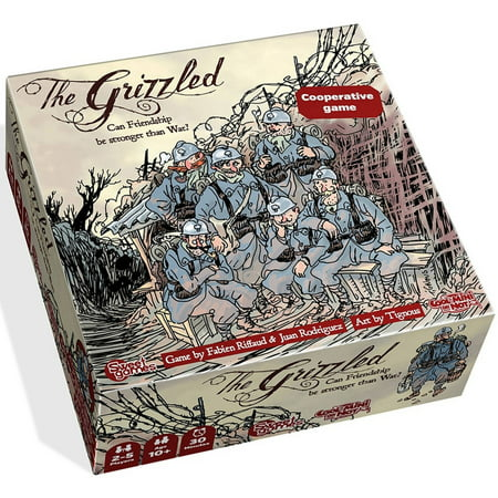 Cool Mini Or Not The Grizzled Board (Cook Game)