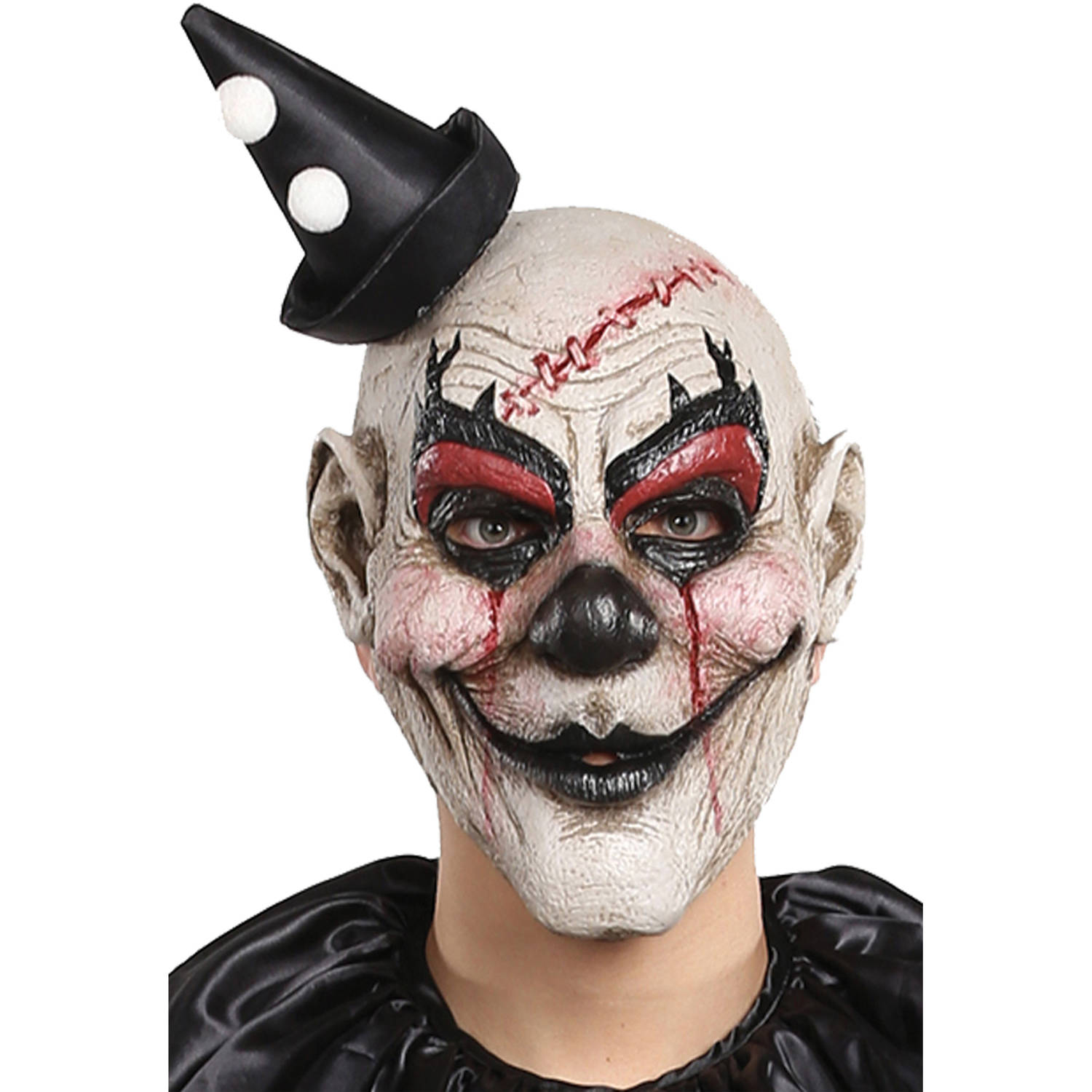 Killjoy Clown Mask Adult Halloween Accessory