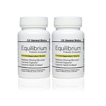 d2cf22050 Equilibrium – Effective 115 Strain Daily Probiotic - Highest Strain Count  in the World (2) - Walmart.com