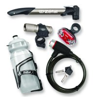 Zefal 6-Piece Bicycle Starter Pack (All the Essential Accessories)
