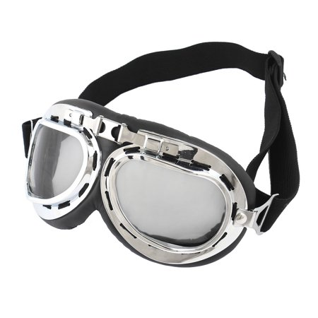 Winter Clear Gray Lens Cycling Outdoor Protective Glasses Anti Fog Ski Goggles ()