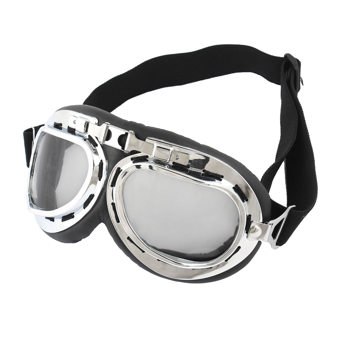 Clear Gray Lens Cycling Outdoor Protective Glasses Anti Fog Ski Goggles