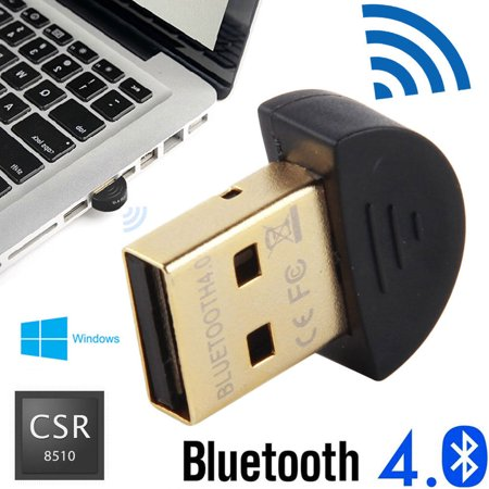 Plated Pc - TSV Bluetooth Adapter, CSR 4.0 USB Dongle Bluetooth Receiver / Transfer Gold Plated for Laptop PC Computer Support Windows 10 8 7 Vista XP 32/64 Bit
