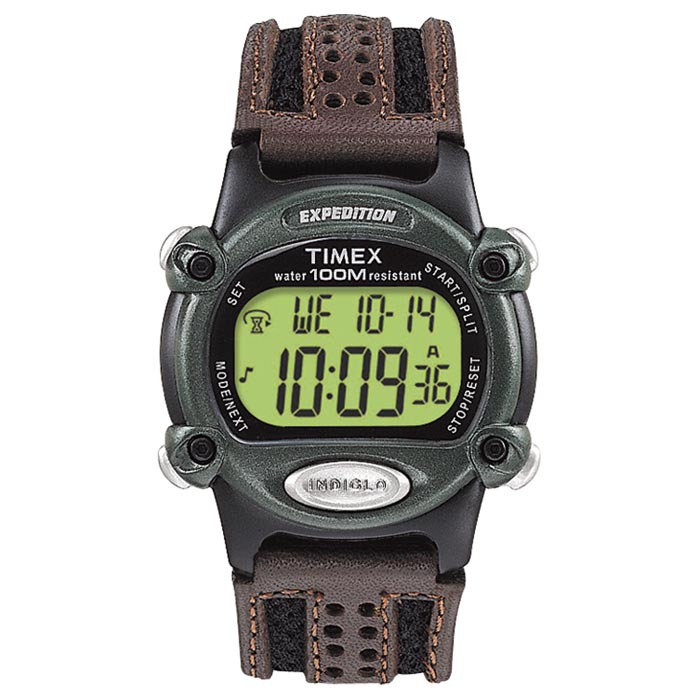 TIMEX EXPEDITION MENS CHRONO ALARM TIMER