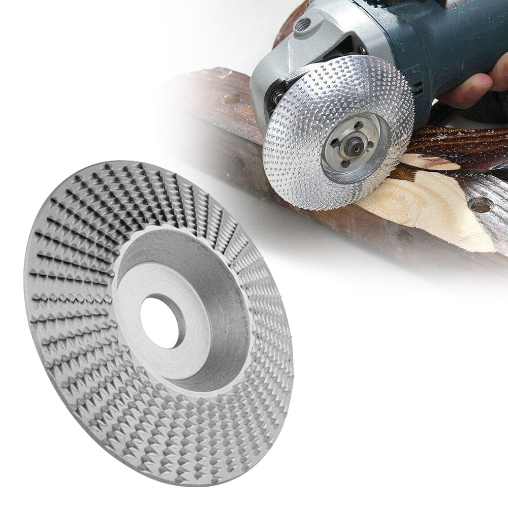 Details about  /Wood Grinding Polishing Wheel Shaping Disc For Angle Grinder Attachment