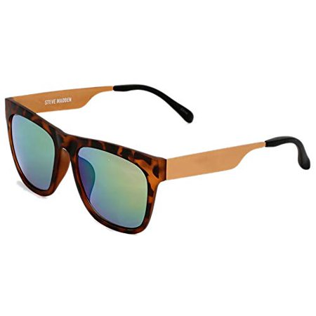 New  Steve Madden Men's SMM87387-Tortoise Arm-Tortoise Frame (Madden Sunglasses)