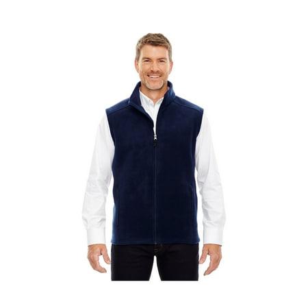 Fleece Zipper Vest - Core 365 Journey Men's Tall Zipper Fleece Vest, Style 88191T