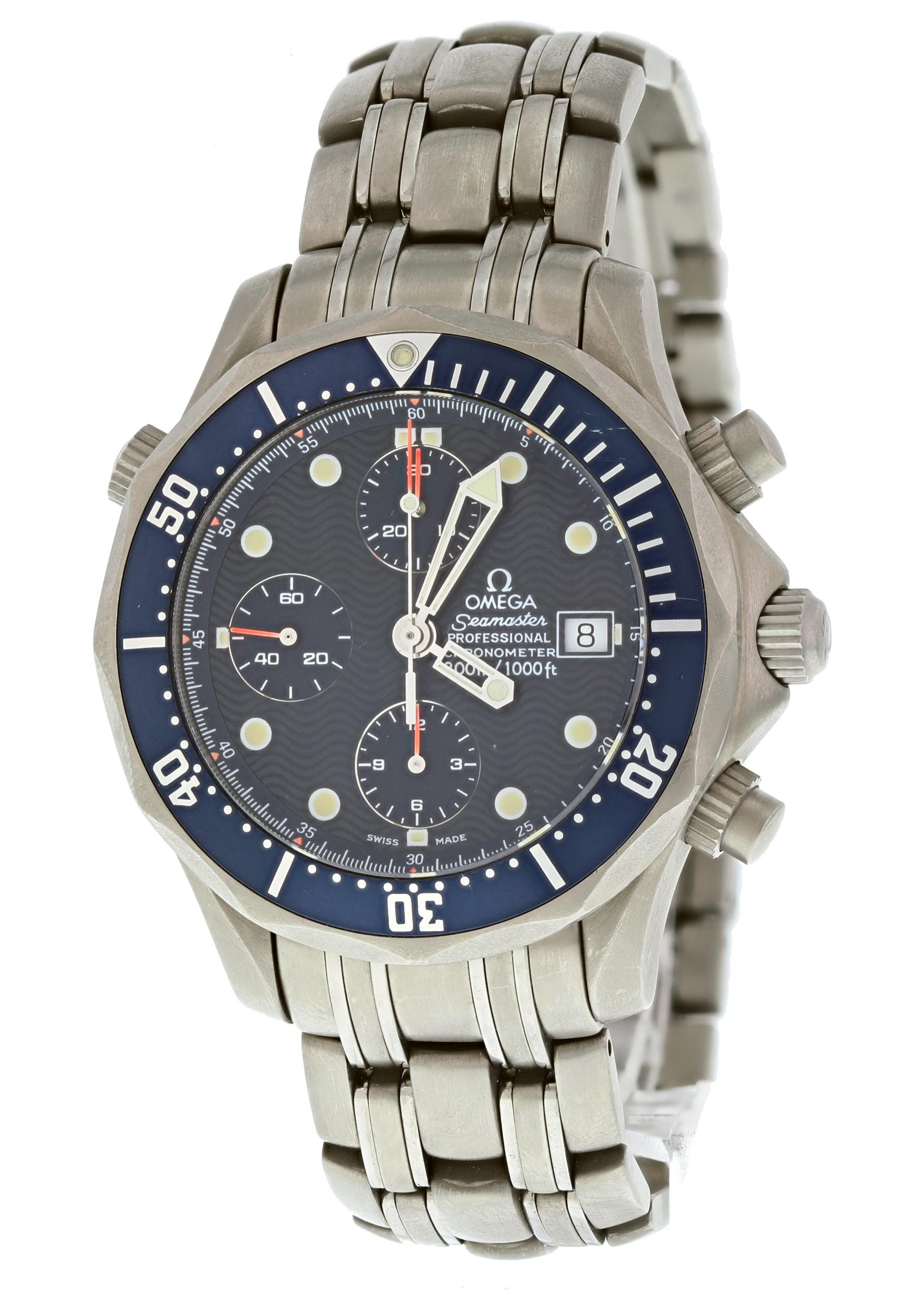 Omega Seamaster 2298.80. Titanium  Watch (Certified Authentic & Warranty)