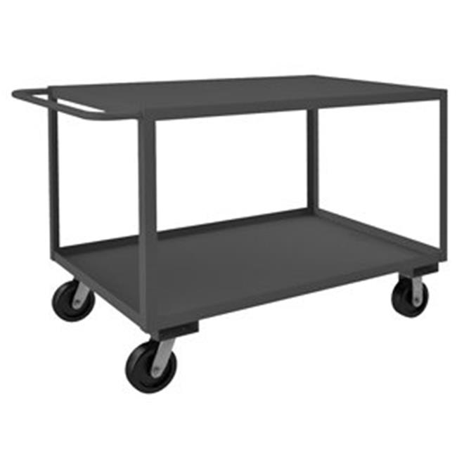 Durham RSC-306036-2-3K-TLD-95 36 in. Rolling Service Cart, Gray - 3000 lbs