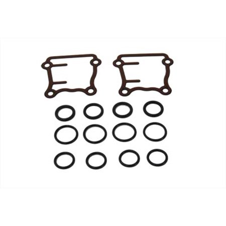 Complete Pushrod Cover (Pushrod Cover Seal Kit,for Harley Davidson,by V-Twin)