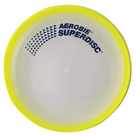 Aerobie Superdisc Flying Disc - Yellow