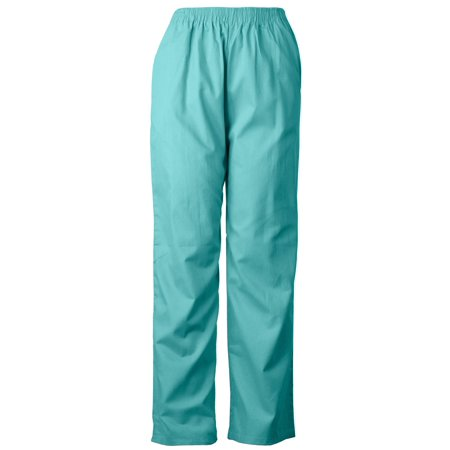 Medgear Unisex Scrubs Pants with Side Pockets and Elastic Waist 802](Halloween Scrubs For Men)