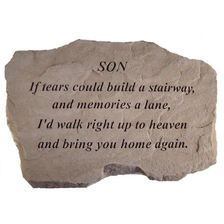 If Tears Could Build A Stairway Memorial Stone - Personalized