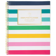 """Simplified by Emily Ley Weekly Monthly Planner, 8 1/2"""" x 11"""" (ELW20-901A-22)"""
