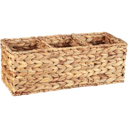 Better Homes & Gardens Woven Water Hyacinth Tank Basket, 1