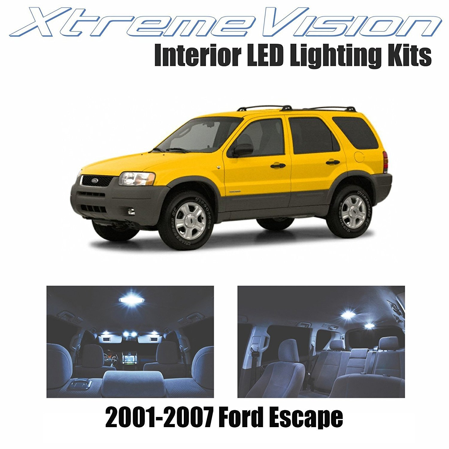 XtremeVision LED For Ford Escape 2001-2007 (6 Pieces) Cool