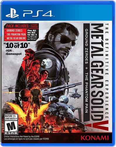 Konami Metal Gear Solid V: The Definitive Experience for PlayStation 4