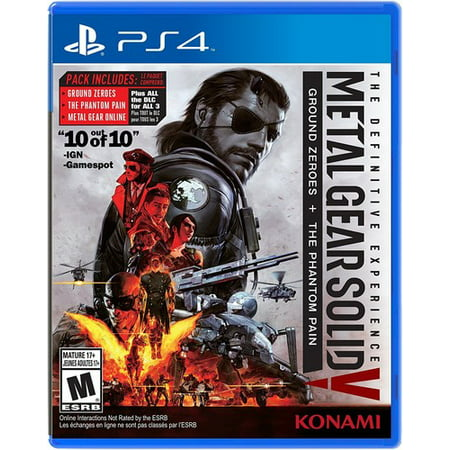 Konami Metal Gear Solid V: The Definitive Experience for PlayStation