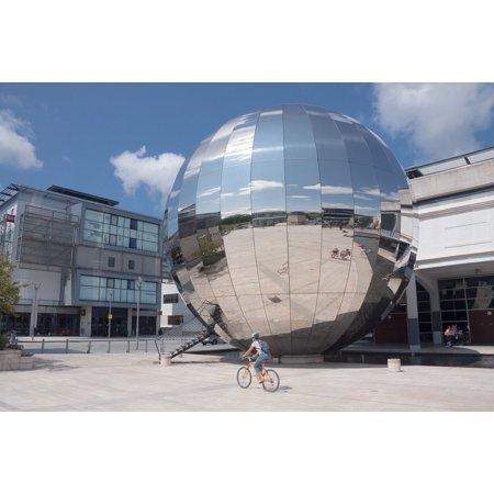 LAMINATED POSTER Planetarium Aluminium Glass Bristol Millenium Space Poster Print 24 x (Best Home Planetaria)