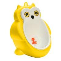 Cute Frog Owl Boy Urinals Boy Kids Baby Toilet Training Children Potty Pee Urine Home Bathroom Portable Plastic Male Urinals