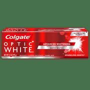 Colgate Optic White Whitening Toothpaste, Sparkling Mint - 3.5 oz