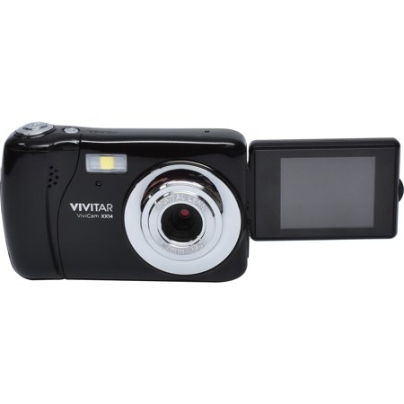 Vivitar ViviCam VXX14 Selfie Digital Camera (Black) Digital Blue Vivitar Vivicam