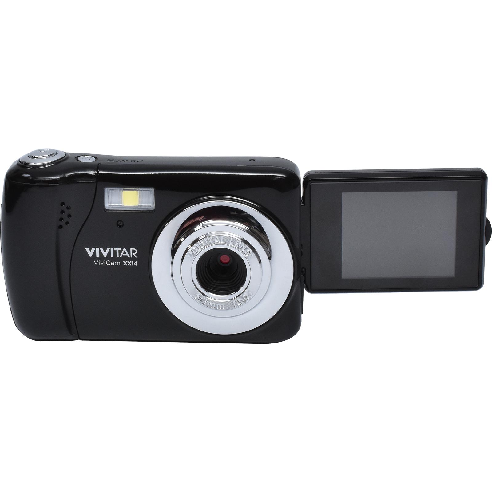 Vivitar ViviCam VXX14 Selfie Digital Camera (Black)
