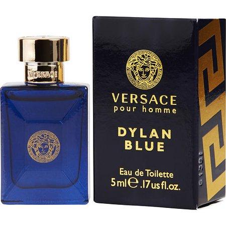 VERSACE DYLAN BLUE by Gianni Versace - EDT .17 OZ MINI - MEN