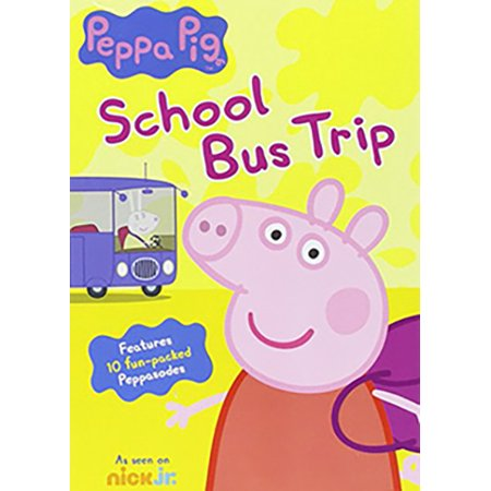 Peppa Pig: School Bus Trip - Peppa Pig Halloween Full Movie