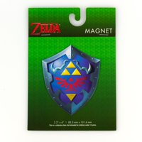 09c239916a9b74 Product Image Zelda Collectibles|Legend of Zelda Link's Hylian Shield 4  Inch Magnet