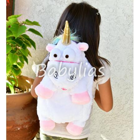 Unicorn Plush Backpack Animal Rainbow Bag Stuffed Animal Doll Toddler Cute Mochila Unicornio](Rainbow Bag)