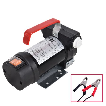 Ktaxon Portable 12V DC Electric Fuel Oil Fuel Transfer Pump Kit, for Gasoline Kerosene Diesel, Commercial, 20GPM 3600R/min - Oil Pump Kit