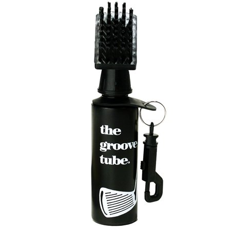 The Groove Tube Golf Club Cleaner Squeeze Bottle Brush