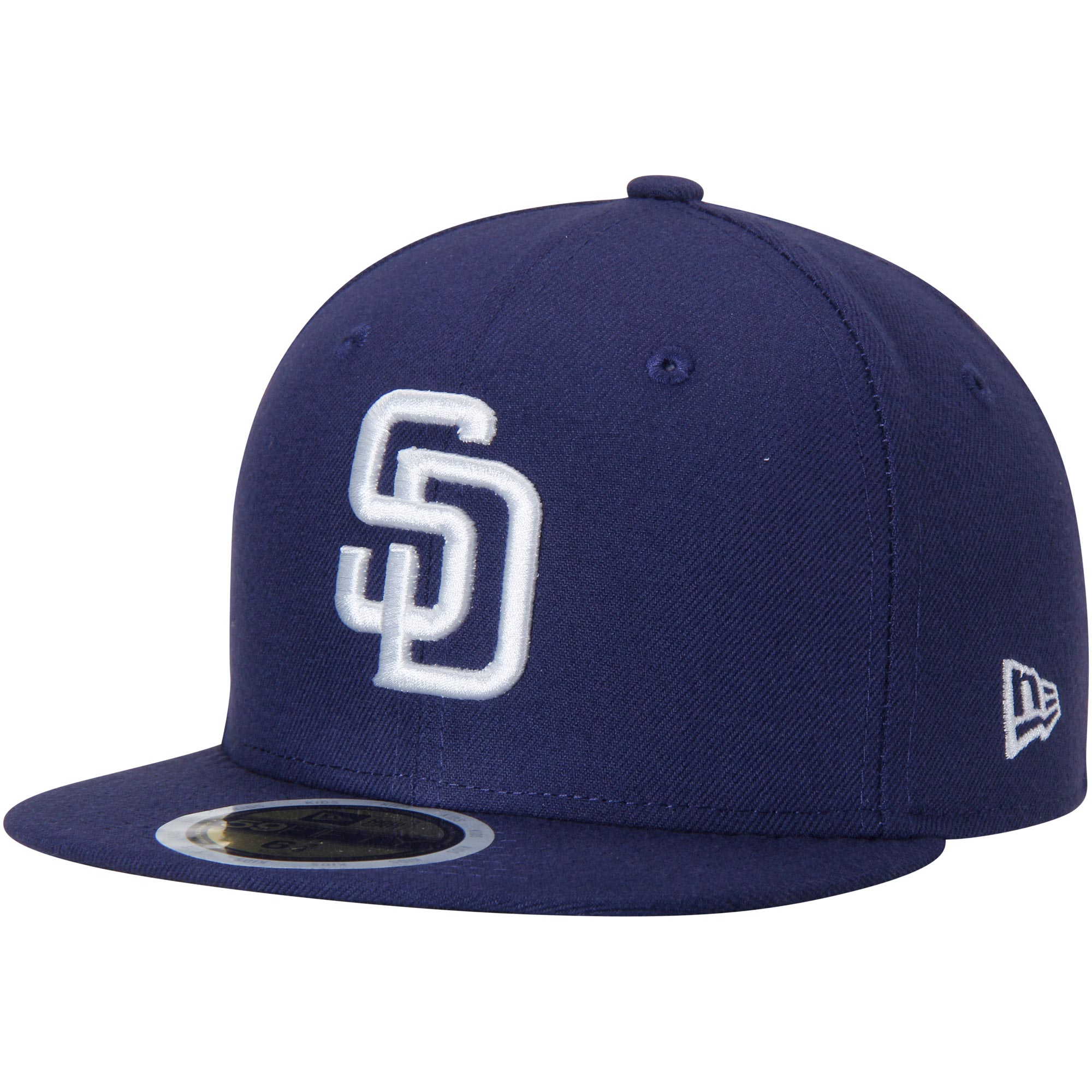 San Diego Padres New Era Youth Authentic Collection On-Field Home 59FIFTY Fitted Hat - Navy