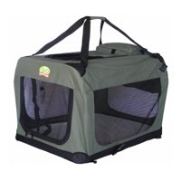 Go Pet Club AD20 20 in. Dog Pet Soft Crate, Sage