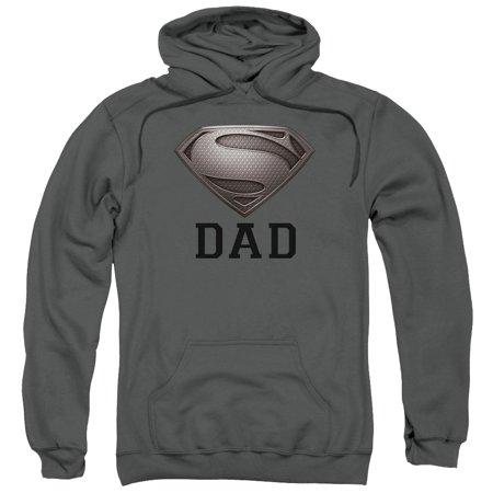 - Super Dad Adult Pullover Hoodie