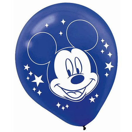 Mickey Mouse Printed Latex Balloons](Mickey Mouse With Balloons)