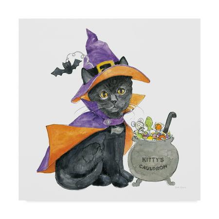 Trademark Fine Art 'Halloween Pets I' Canvas Art by Beth Grove - Halloween Pets Clip Art