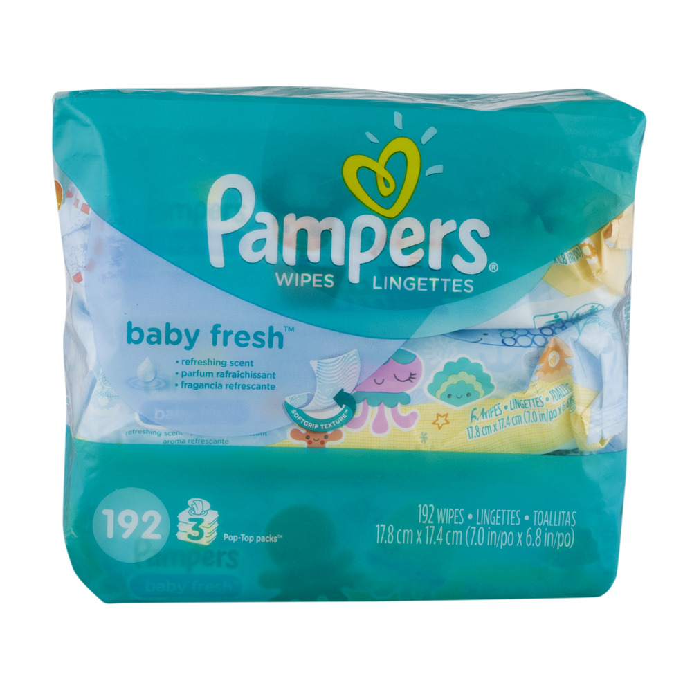 Pampers Baby Wipes Baby Fresh - 192 CT
