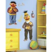 Wallhogs Sesame Street Bert and Ernie Cutout Wall Decal