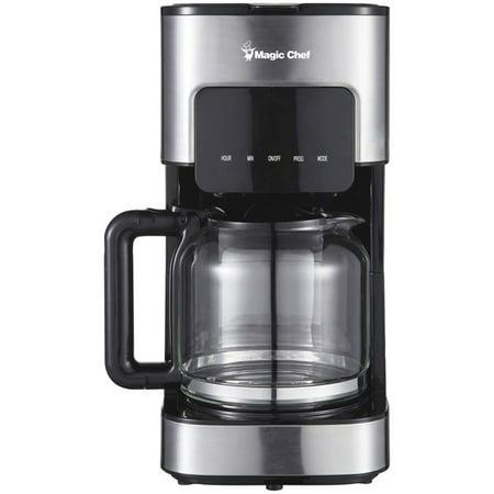 Magic Chef(R) MCSCM12SS 12-Cup Programmable Coffee Maker (Magic Chef Coffee)
