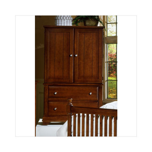 Vaughan Bassett Cottage Collection Armoire In Cherry