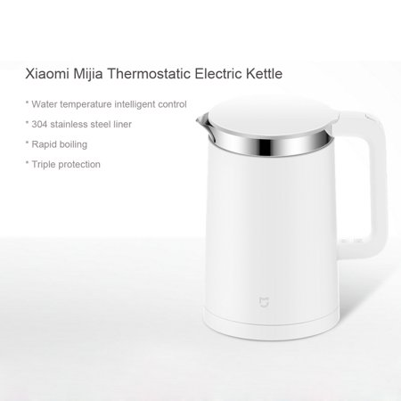 Xiaomi Mijia Thermostatic Electric Kettles 1.5L Electric Water Kettle 12 Hours Thermostat Kettle Mobile Phone App Smart Control - image 3 of 7