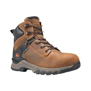 """Men's Timberland PRO 6"""" Hypercharge Soft Toe Waterproof Work Boot Brown Full Grain Leather 11.5 W"""